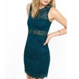 MOVING SALE! Express lace bodycon sheath dress